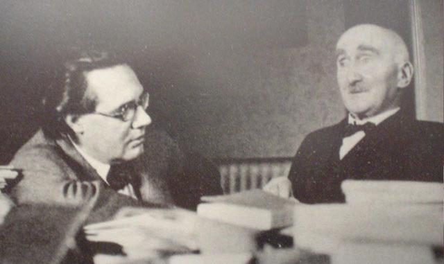 Andrés Segovia y Henri Bergson
