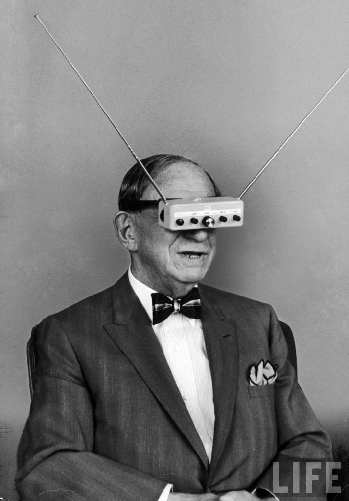 inventor_hugo_gernsback_wearing_television_glasses_life_1963