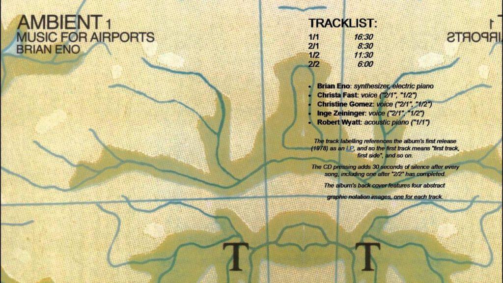 Ambient 1. Brian Eno