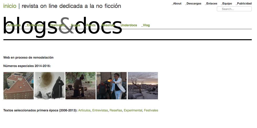 Blogs y docs