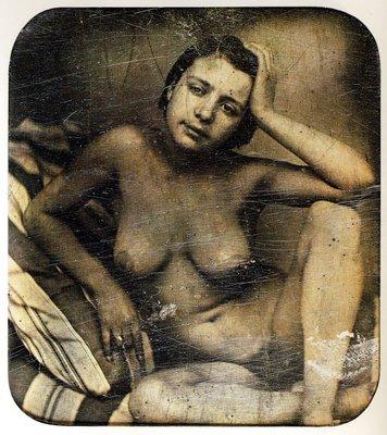 daguerreotype french nude 1855