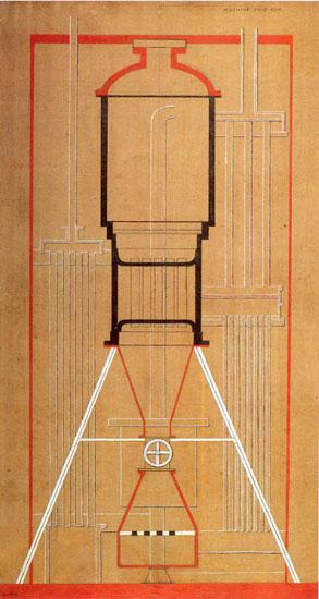 Francis Picabia 4 Máquina sin nombre