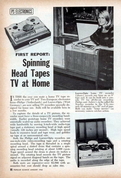 Video tape hogar
