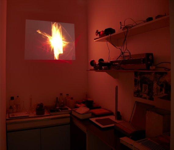 val del omar proyecciones con laser