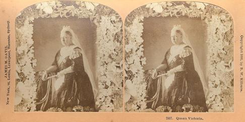Estereoscopía Reina Victoria