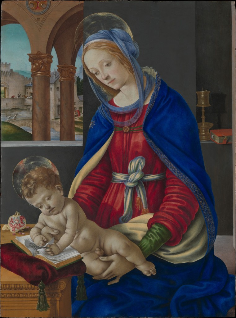 filippino lippi madonna and child 1420