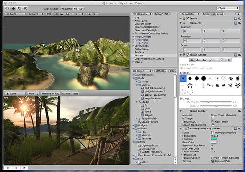 unity3D_interface