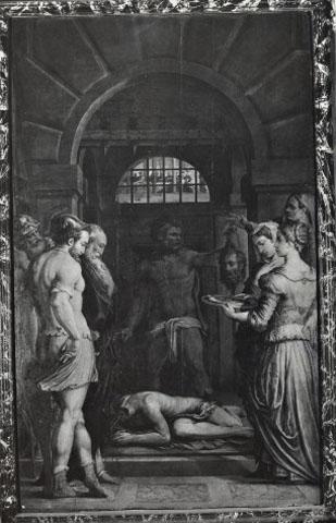 Vasari Giorgio , Decapitazione di san Giovanni Battista - insieme
