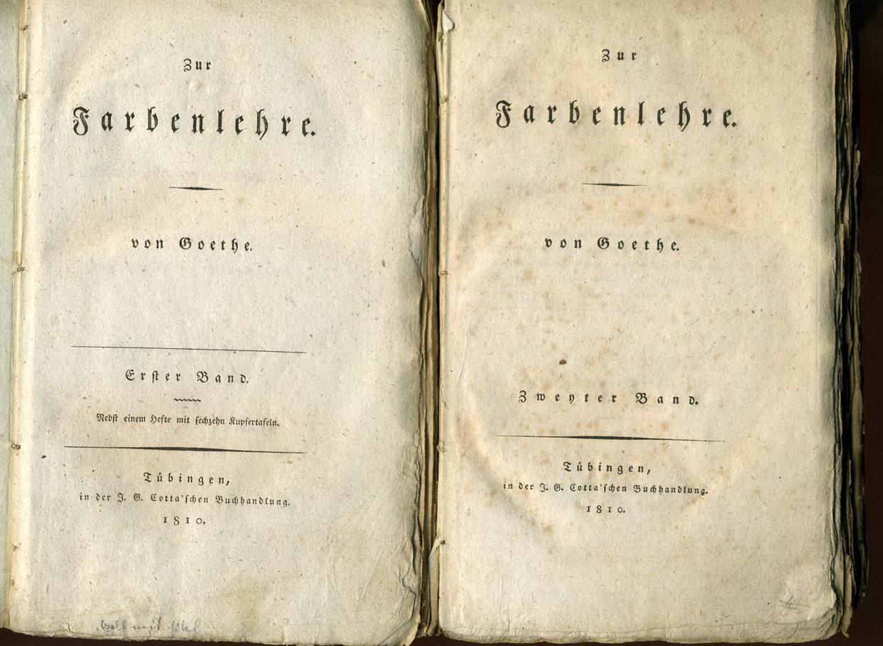 La teoría del color de Goethe | IDIS