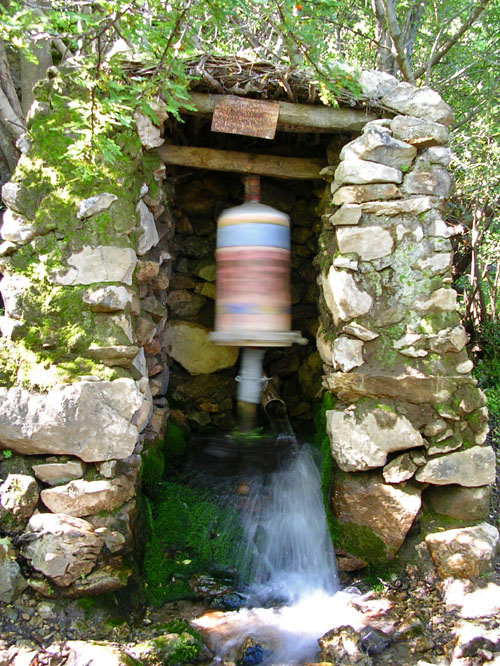 prayer-wheel-water