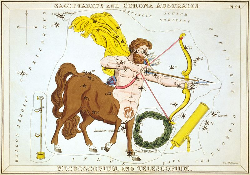 sidney_hall_-_uranias_mirror_-_sagittarius_and_corona_australis_microscopium_and_telescopium