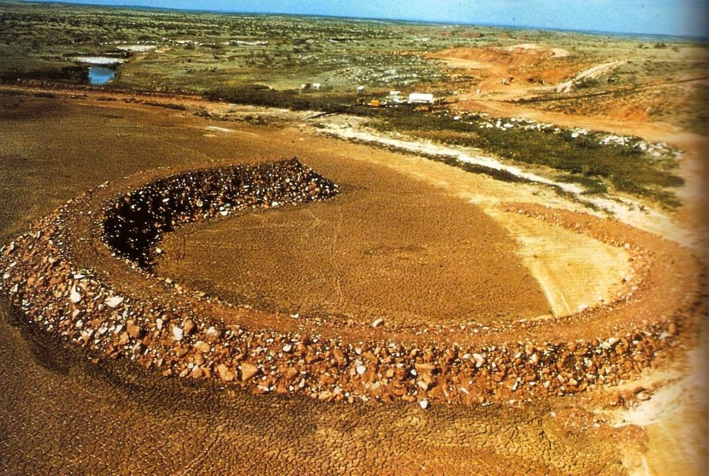 Amarillo Ramp - Robert Smithson 1973