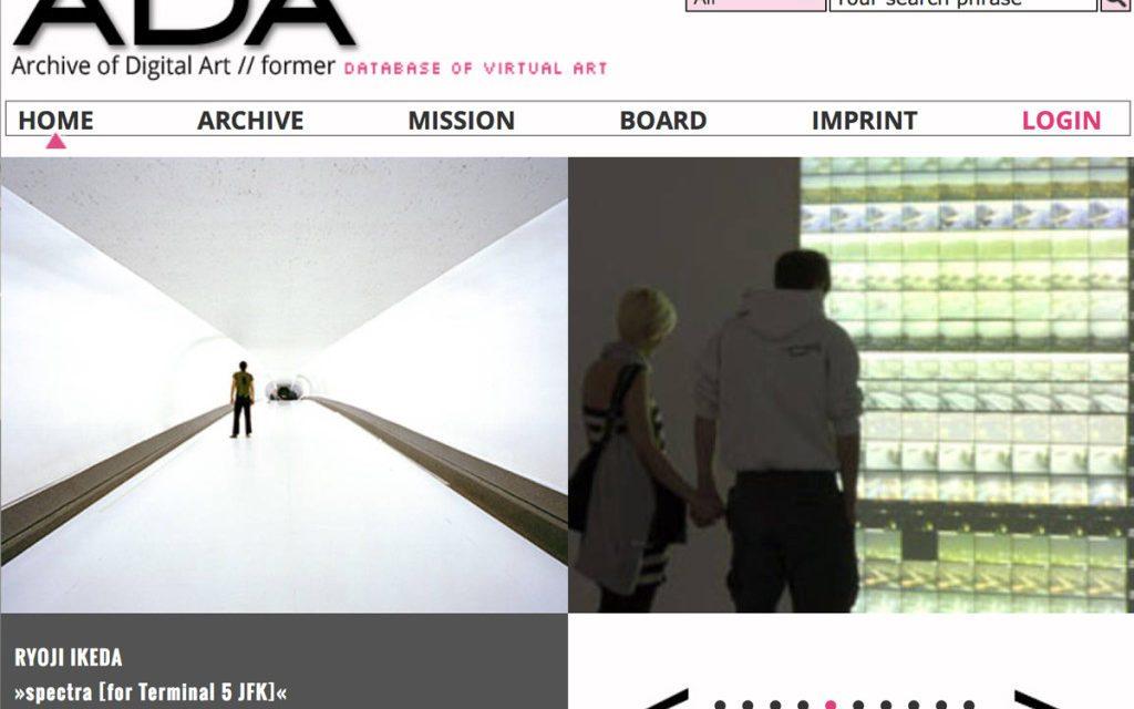 Ada-homepage