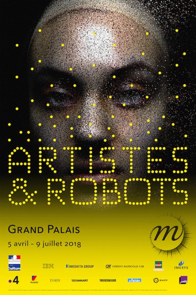 Artistas y robots poster