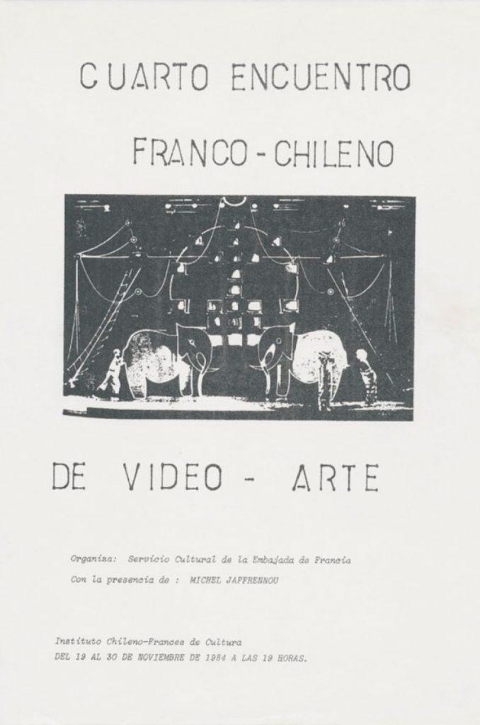 Encuntro Franco Chileno de video arte 01