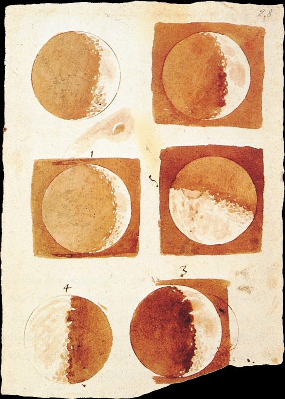 Galileo luna
