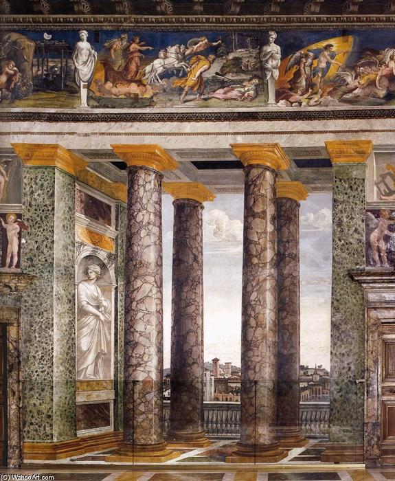Baldassare-Peruzzi-Decoration-of-the-Sala-delle-Prospettive-2-