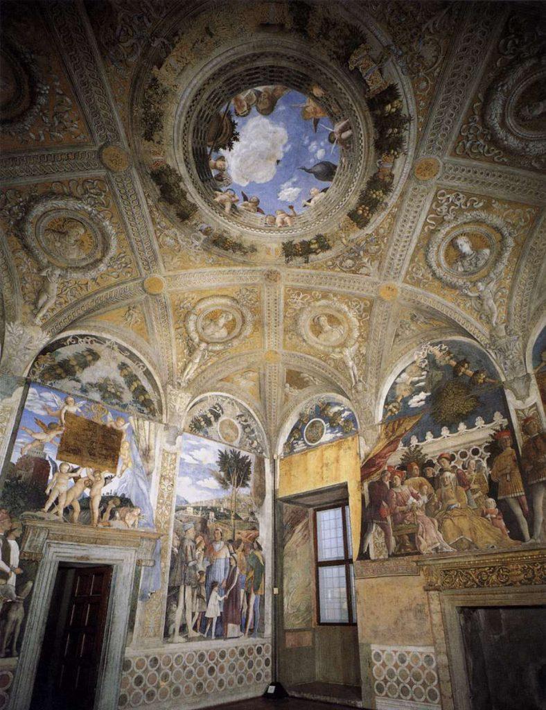 mantegna camera sposi vista gral